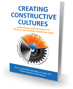Creating Constructive Cultures cover3d