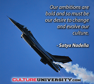 A bold vision to truly evolve your culture
