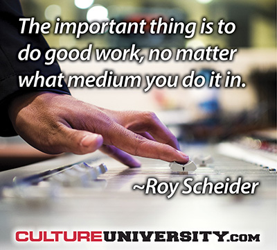 At the Heart of Culture - Work That Matters