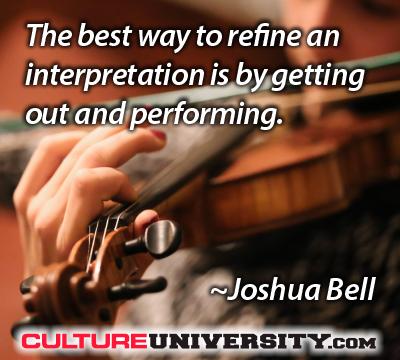 Changing your assumptions about culture refinement