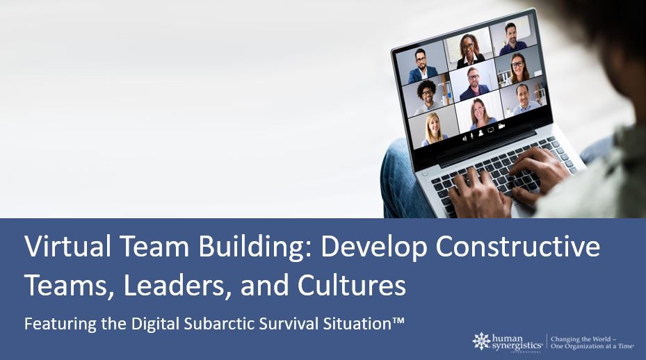 subarctic survival situation - digital exercise
