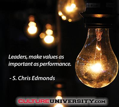 Create A Healthy Culture with Formalized Values
