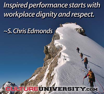 Want productive, engaged team members? Create workplace dignity and respect.