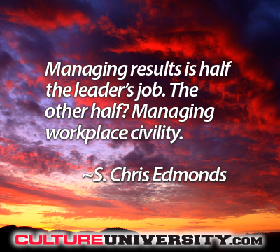 Culture drives everything that happens in your organization