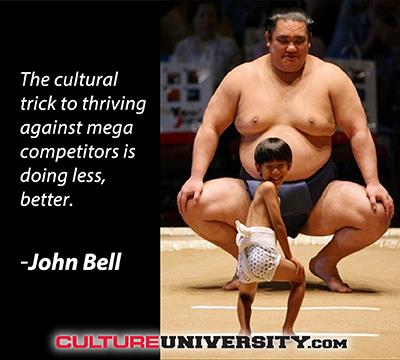 Culture is the Small Guy's Advantage