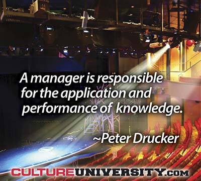 Developing a Performance Culture