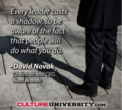 Every leader casts a shadow
