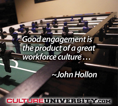 Get the Culture Right and Strong Employee Engagement is Bound to Follow