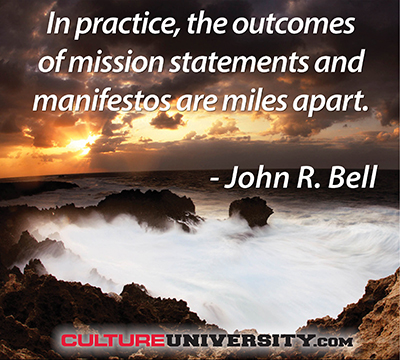 Goodbye Mission Statement. Hello Manifesto.