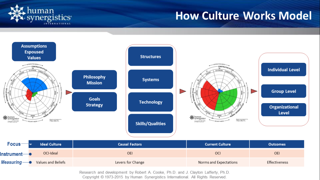 How Culture Works Model