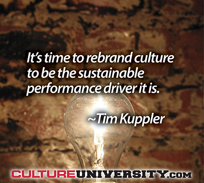 How to Accelerate Culture Change