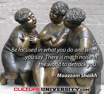 How to manage the noise of culture change conversations