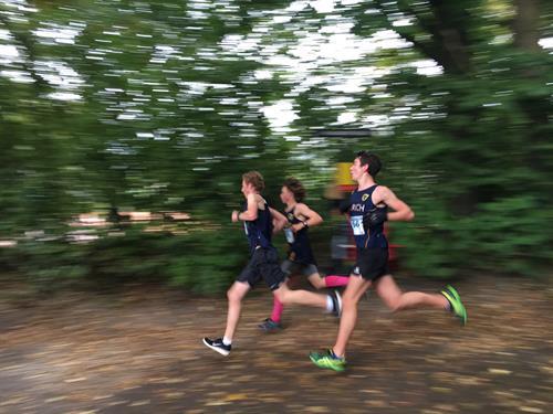 cross country runner team