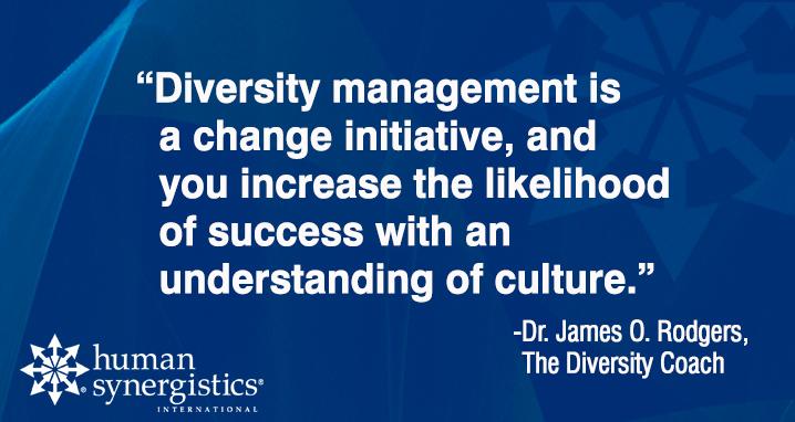 diversity quote, James Rogers