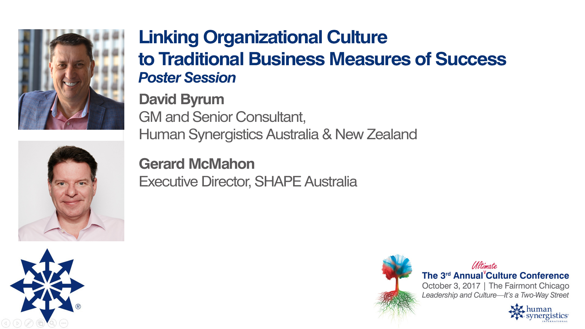 SHAPE and business measures