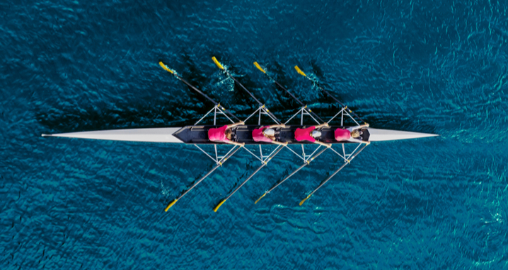 rowing together, leadership culture