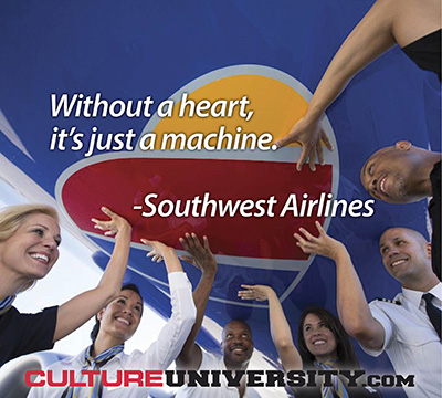 Southwest Airlines Reveals 5 Culture Lessons