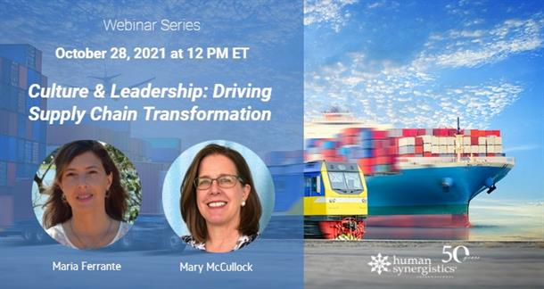supply chain culture and leadership transformation