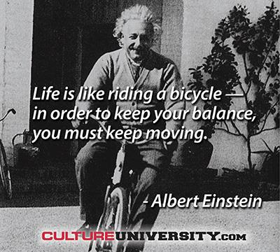The Art of Leadership and Riding a Bicycle
