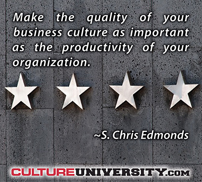 The most critical factor in business success? Culture.