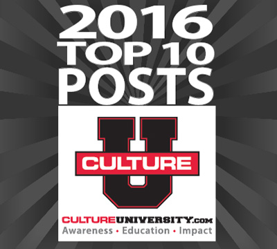 The Top 10 posts of 2016 on Culture University
