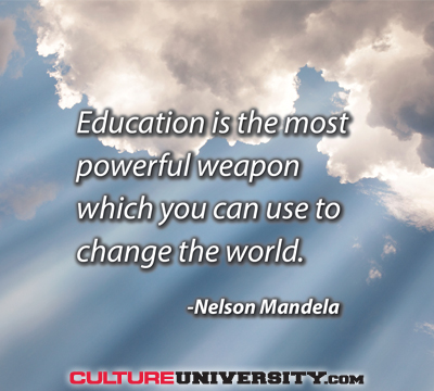 The World Needs Culture Education