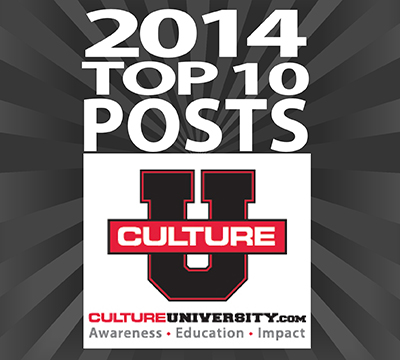 Top 10 Culture University Posts in 2014