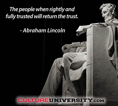 Toward a Trust Culture