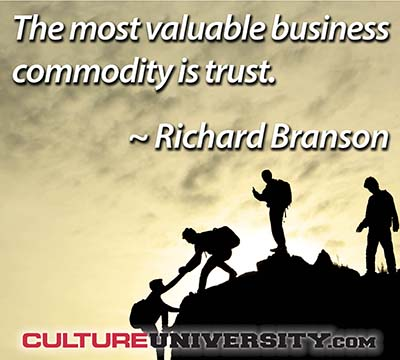 Trust: Going Beyond Compliance and Ethics
