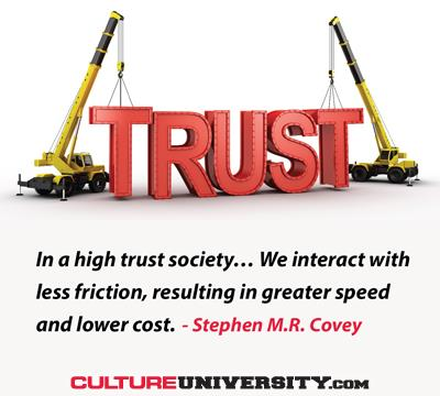 Trust Makes Culture Change Ready