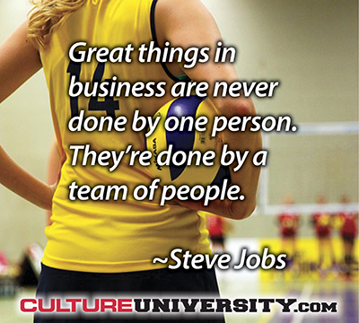 Want Great Cultures? First, Build Great Teams!
