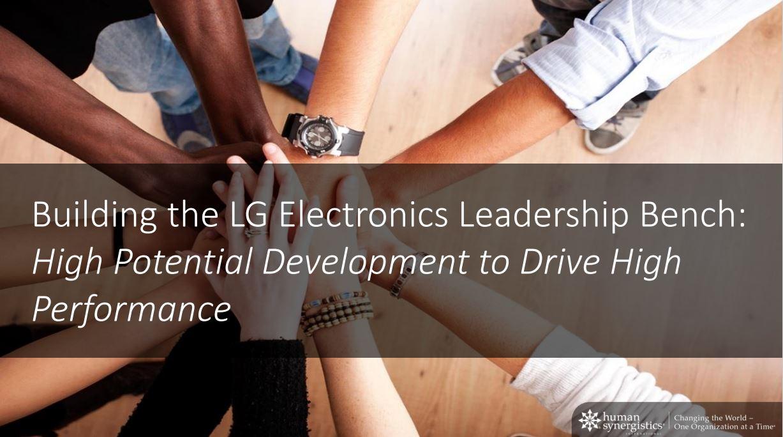Webinar LG Electronics Feb2021