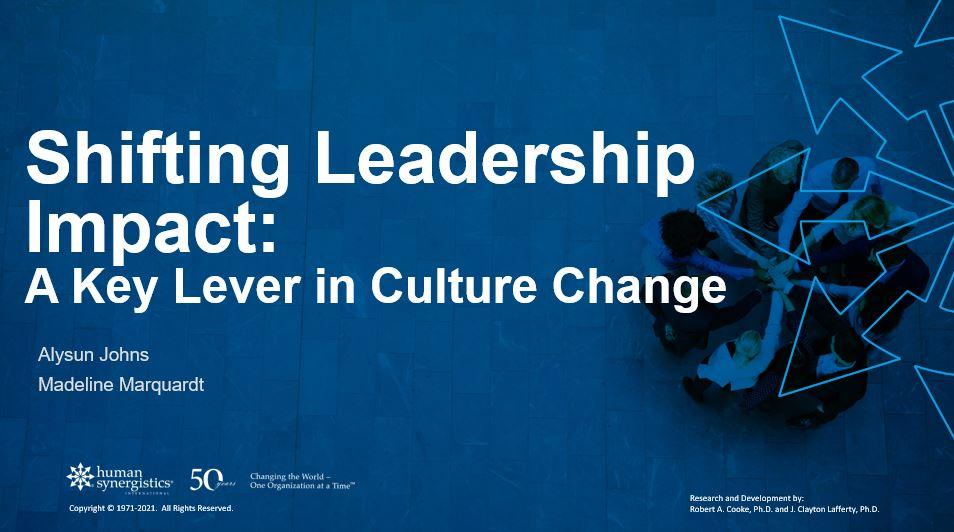 Shifting Leadership Impact tnl